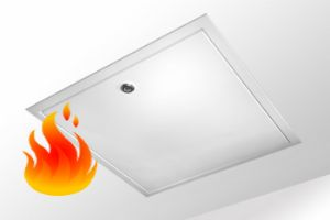 1 Hr Fire Rated Loft Hatch -  Made To Measure FPS